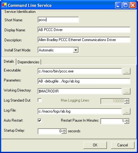 Allen Bradley PCCC Ethernet Driver